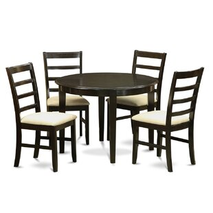 Hillhouse 5 Piece Dining Set by Red Barrel Studio Savings