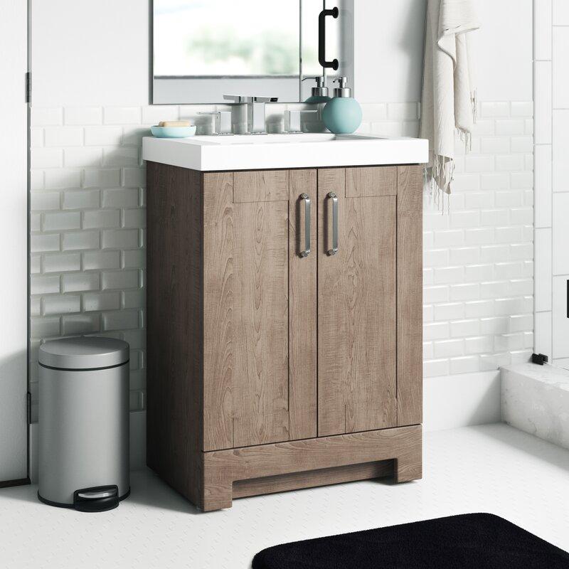 Incredible Nels 25 Single Bathroom Vanity Set Interior Design Ideas Clesiryabchikinfo