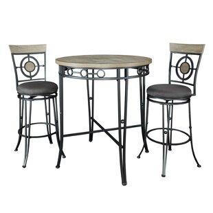 Benedetto 3 Piece Pub Table Set
