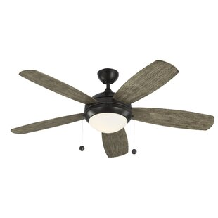 Best Choices 52 Hannibal 5 Blade LED Ceiling Fan with Remote By Mercury Row