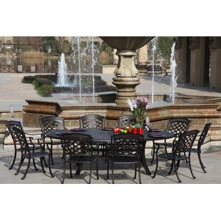 Thompson 11 Piece Dining Set with Cushions