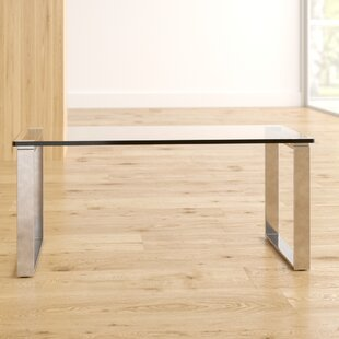 Messancy Glass Coffee Table By Metro Lane
