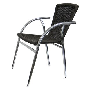 Marvelous Aluminum Outdoor Dining Chair Wayfair Beutiful Home Inspiration Aditmahrainfo