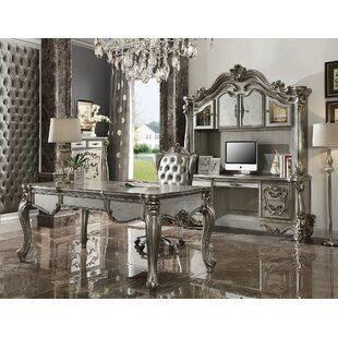 Maio Versailles Executive Desk Set with Hutch
