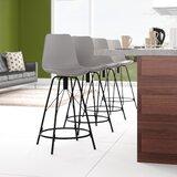 Bohannan Upholstered 26 Counter Stool (Set of 4) by Brayden Studio®