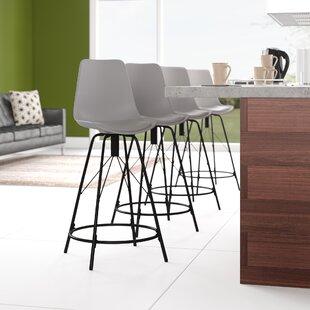 Bohannan Upholstered 26 Counter Stool Set of 4