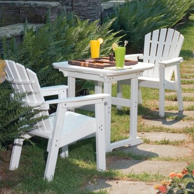 Nate Plastic Dining Table by Rosalind Wheeler Best