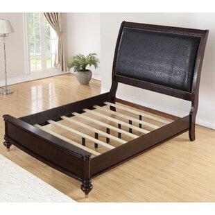 World Menagerie Bohemia Luxury Upholstered Panel Bed
