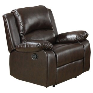 Mill City Manual Recliner Red Barrel Studio