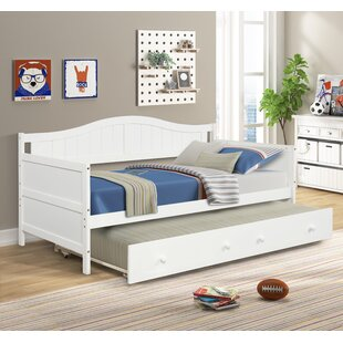 Poche Twin Bed with Trundle by Harriet Bee