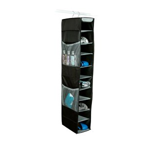 Richards Homewares Gearbox StorageCaddy 4-Pocket and 10-Compartment Hanging Shoe Organizer