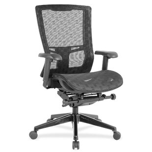 Checkerboard Design Mesh Task Chair