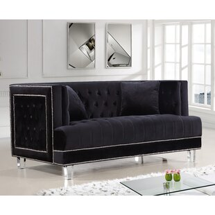Hettie Chesterfield Loveseat by Willa Arlo Interiors