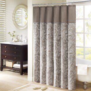 Find the perfect Pokanoket Jacquard Shower Curtain By Alcott Hill