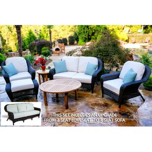 Fleischmann 6 Piece Sofa Set with Cushions