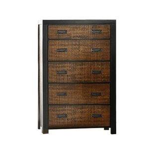 Presson 5 Drawer Accent Chest by Union Rustic