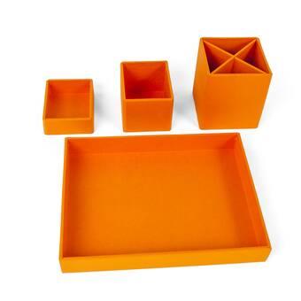 Design Ideas Indigo Desk Supplies Organizer Wayfair