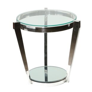 Dickamore Double Shelf End Table by Orren Ellis