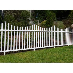 3 5 H X 7 8 W Manchester Semi Permanent Fence Panel Set Of 2 By Zippity Outdoor Products