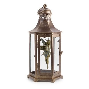 Compare Fairy and Tea Light Metal Lantern By Astoria Grand