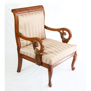 The Silver Teak Vintage Style Lounge Chair