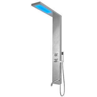 Nezza Fin LED Shower Panel Diverter
