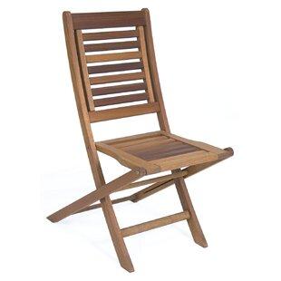 Brighton Folding Patio Dining Chair (Set of 2)