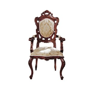 Toulon French Rococo Fabric Arm Chair by Design Toscano Best Design