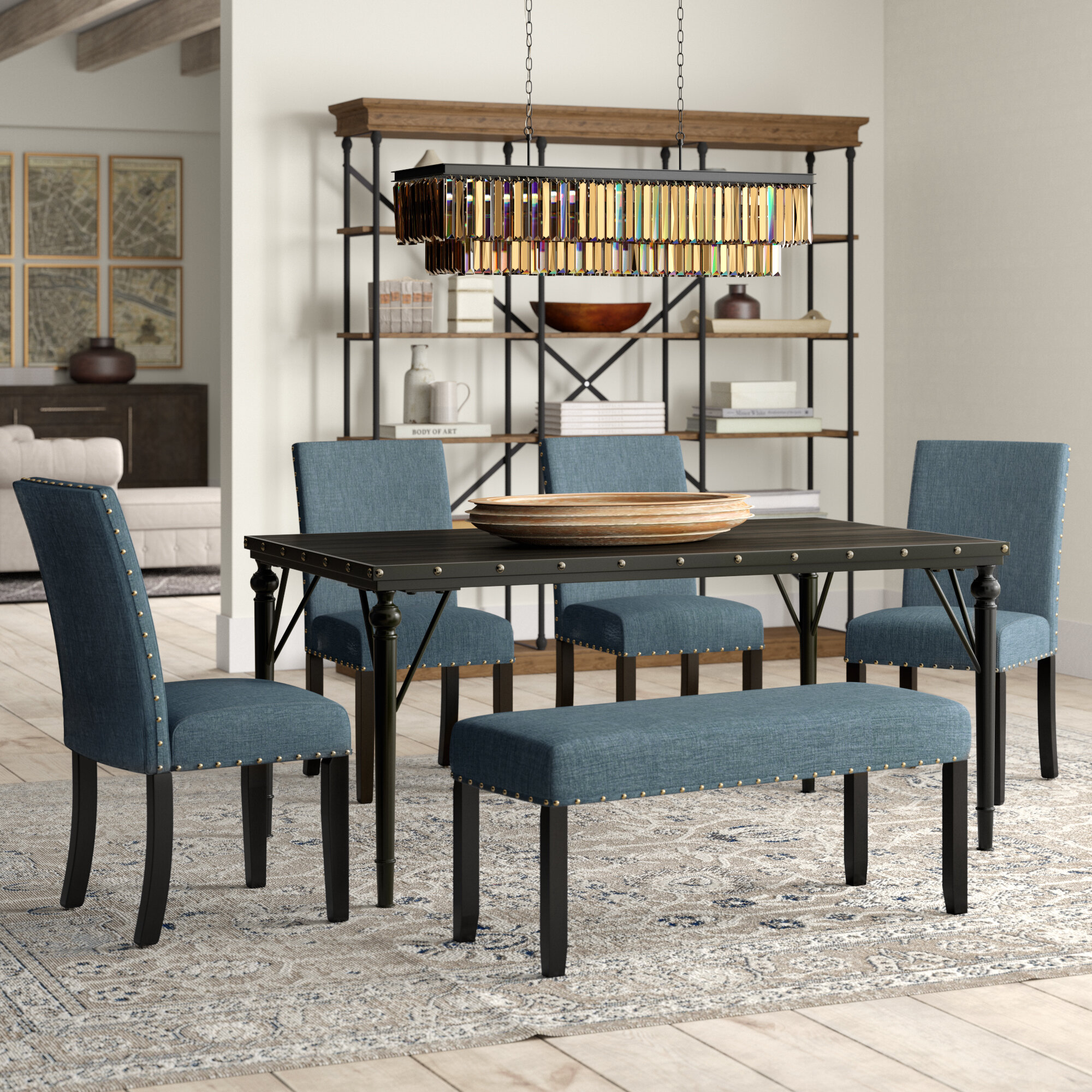 Haysi 6 Piece Dining Set