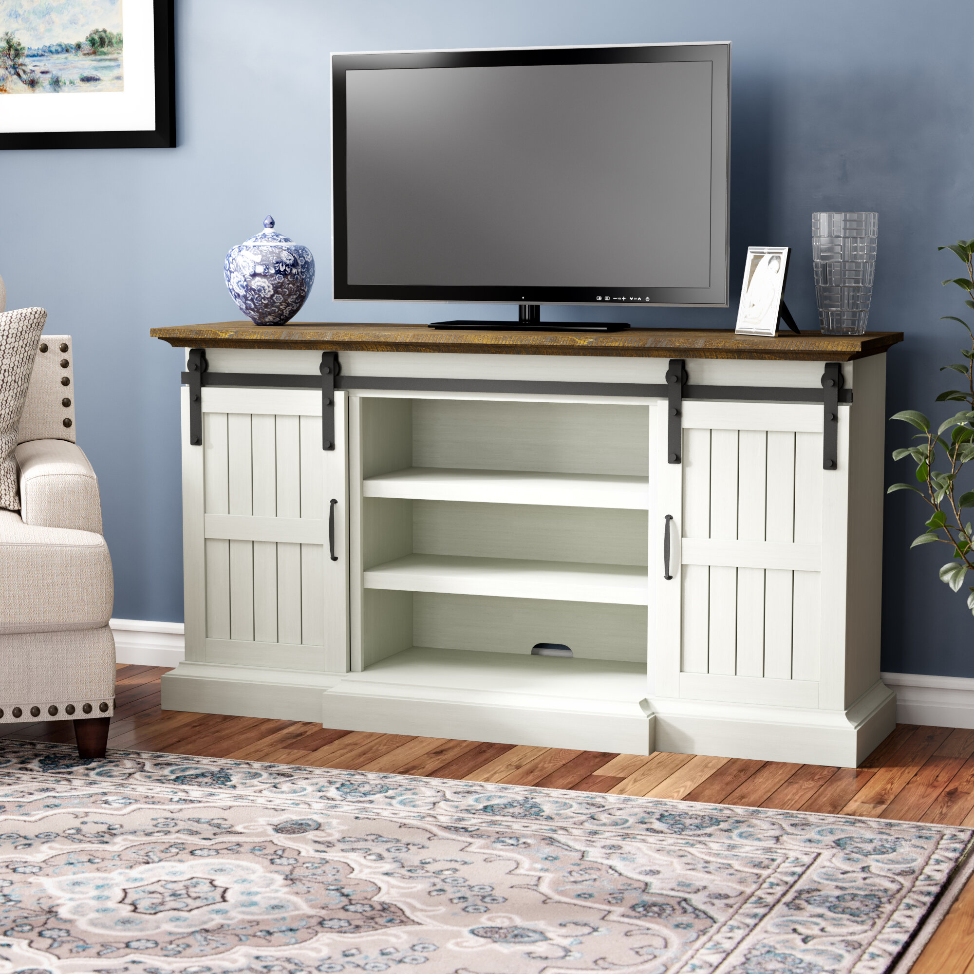 Rhiannon Tv Stand For Tvs Up