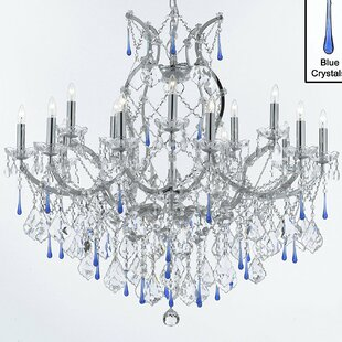 Blue chandeliers youll love save aloadofball Images