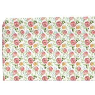 Online Reviews Floral Field Fitted Crib Sheet ByBlush & Blue