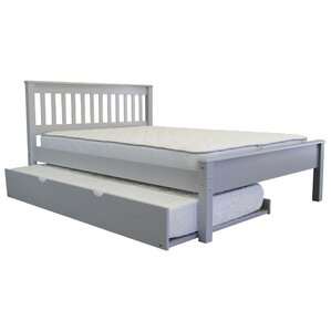 Mission Slat Bed with Trun..