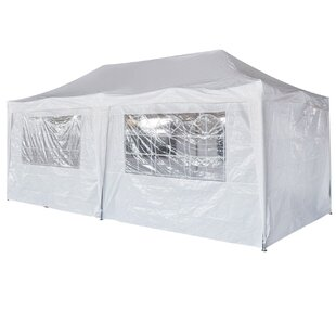 Wedding Folding Beach 10 Ft. W x 20 Ft. D Steel Party Tent by Strong Camel