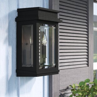 Laurel Foundry Modern Farmhouse Persil 2-Light Outdoor Flush Mount