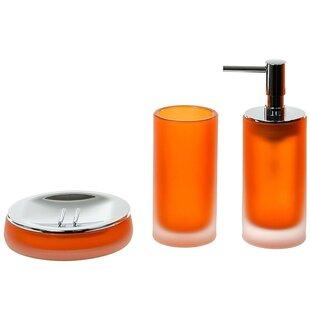 Gedy by Nameeks Tiglio 3-Piece Bathroom Accessory Set