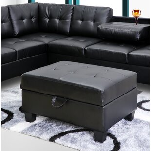 Beyarmudu Tufted Storage Ottoman by Ebern Designs