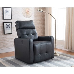 Florentina Contemporary Leather Power Recliner