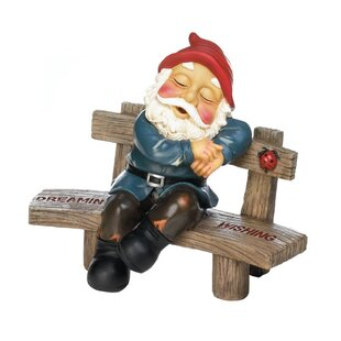 Braelynn Dreaming And Wishing Gnome Statue By August Grove