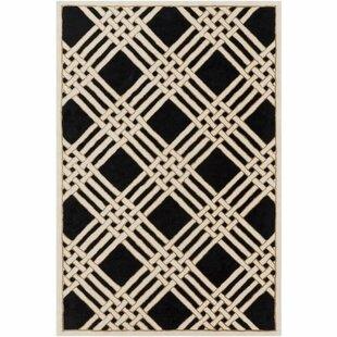 Look for Intermezzo Hand-Tufted Geometric Area Rug ByElle Decor