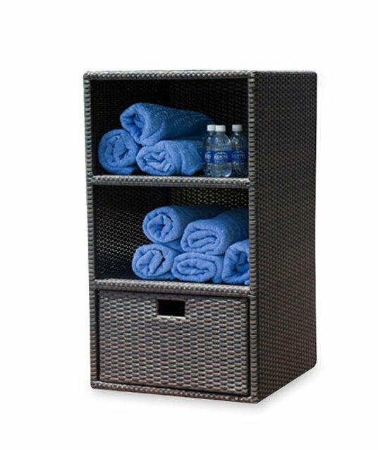 Brayden Studio Lasater Wicker Towel Valet