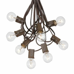 G30 Patio 100 ft. 100-Light Globe String Lights by The Party Aisle