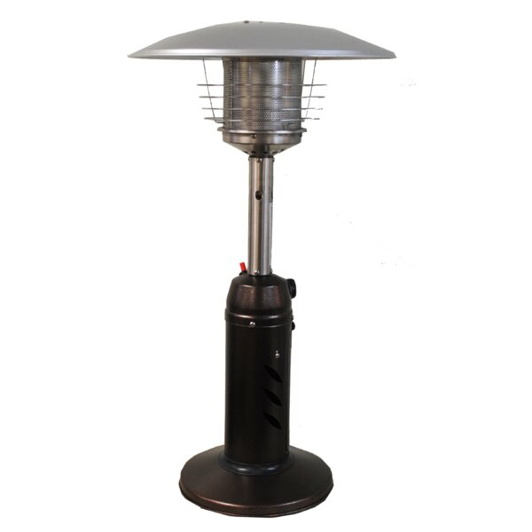 Awesome SUNHEAT Round 11,000 BTU Propane Tabletop Patio Heater U0026 Reviews | Wayfair