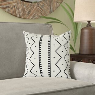 Lassiter Mudcloth Geometric Outdoor Throw Pillow
