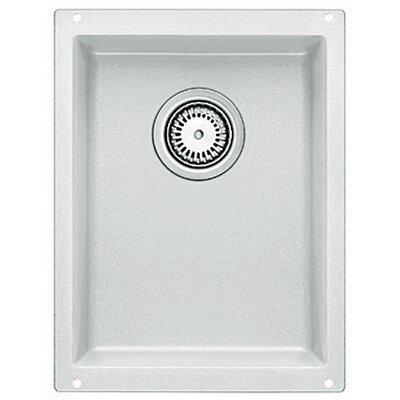 Precision 13.75 L x 18 W Kitchen Sink Blanco Color: White