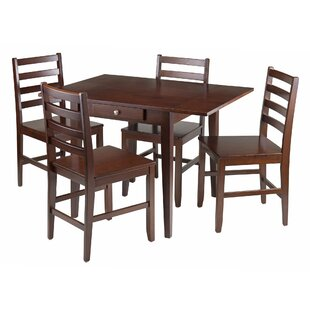 Coleshill 5 Piece Drop Leaf Dining Set Red Barrel Studio