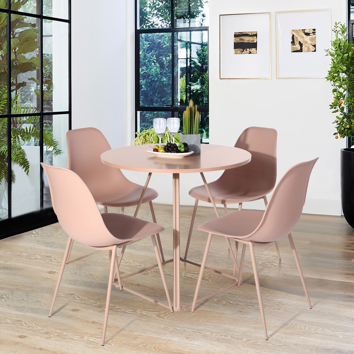 Pink Side Kitchen Dining Chairs You Ll Love In 2021 Wayfair