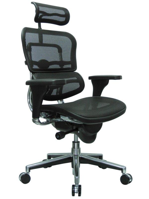 eurotech seating ergohuman mesh desk chair & reviews | wayfair