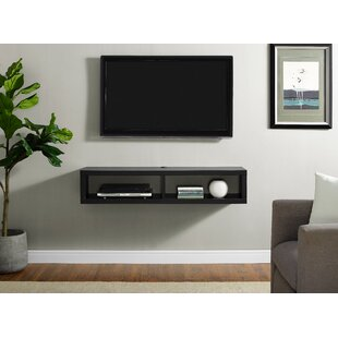 Shallow Wall Mounted TV Stand for TVs up to 48 by Martin Home Furnishings
