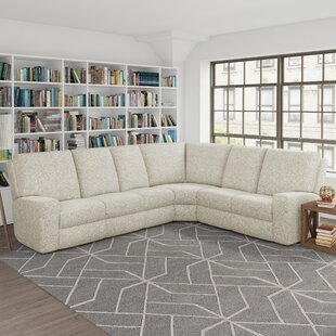 Symmetrical Reclining Sectional By Wayfair Custom Upholstery™